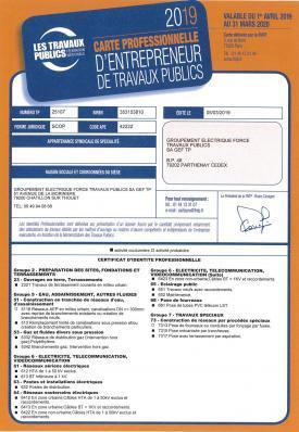 Certificat d identite professionnelle 19 20